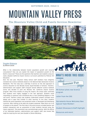 current newsletter